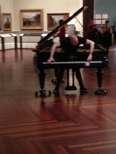Music performance at the state library!