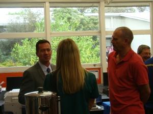 Meeting Campus Principal Russell Watson