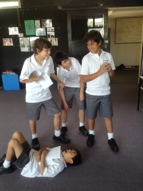 Year 7 Drama (Beaumaris)
