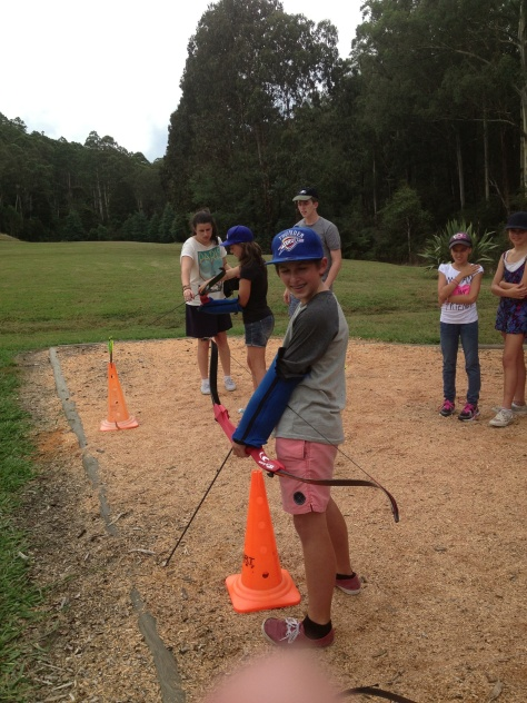 Fun at Forest Edge Year 7 Camp