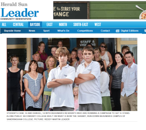 LEader Front Page