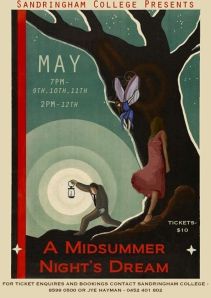 Sandringham College Year 12 Theatre Studies presents A Midsummer Night's Dream