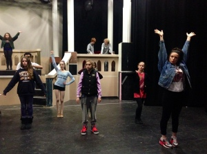 Blocking Beauty and the Beast!