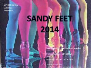 SANDY FEET 2014